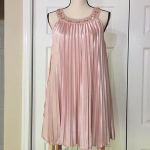 Pink Blush Bedazzled Dress (M)
